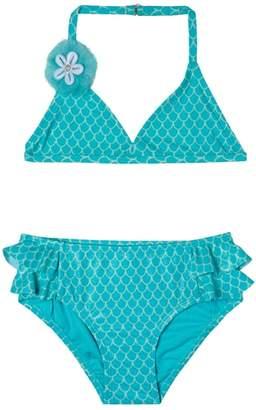 Hula Star Mermaid Princess Two-Piece Swimsuit