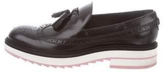 Louis Vuitton Wingtip Kiltie Loafers