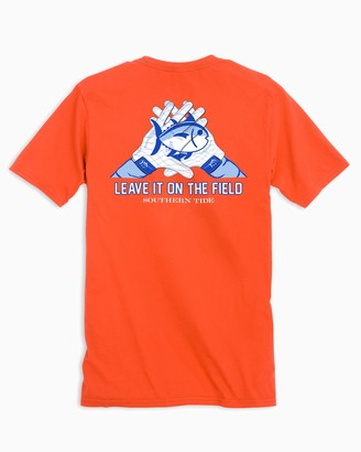 Southern Tide Gameday Skipjack Gloves T-shirt - Auburn University