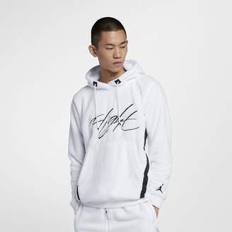 Jordan Men's Sherpa Pullover Hoodie Sportswear Wings of Flight