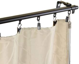 Rod Desyne Armor Wall Mount Adjustable Traversing Curtain Track
