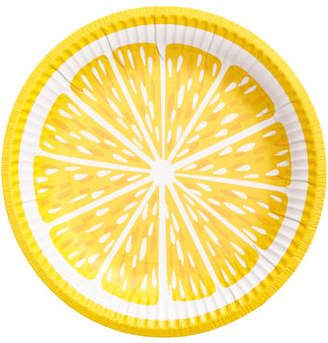 H&M 10-pack Paper Plates - Yellow