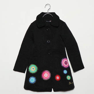 Desigual (デジグアル) - デシグアル Desigual GIRL WOVEN OVERCOAT LONG SLEEVE