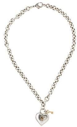 d3da2566fa 1994 Heart & Key Pendant Necklace
