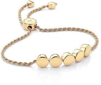 Monica Vinader Engravable Linear Bead Friendship Bracelet