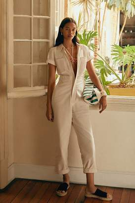 Urban Outfitters Canvas Flight Jumpsuit