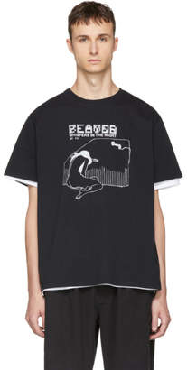 Second/Layer Black Whispers In The Night T-Shirt