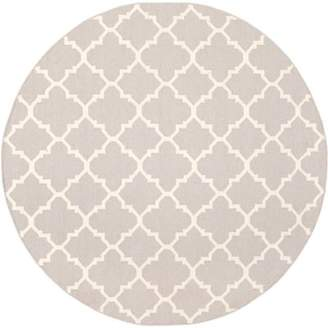 Safavieh Dhurries Wool Ivory Area Rug