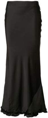 Paco Rabanne long fitted skirt