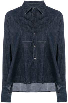 Diesel Black Gold denim tunic shirt