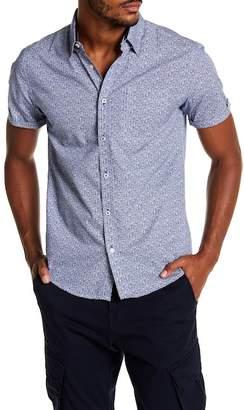 Coastal Printed Floral Modern Fit Shirt