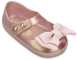 Mini Melissa Baby's Mary Jane Peep Toe Flats