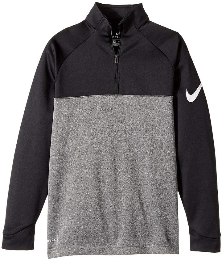 Nike Kids Therma-Fit 1/2 Zip Boy's Long Sleeve Pullover