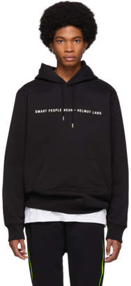 Helmut Lang Black Smart People Hoodie