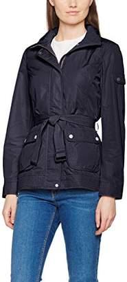 Geox Women's W7221HT2318 NA Long Sleeve Jacket - Blue