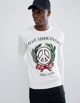 Love Moschino Milano Sweater