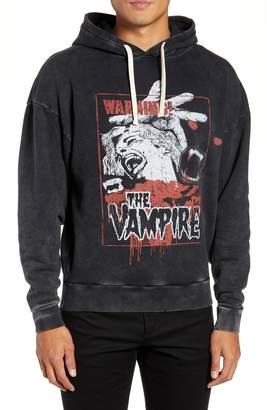 The Kooples Vampire Graphic Hooded Sweatshirt