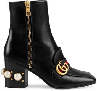 Gucci Mid-heel ankle boots