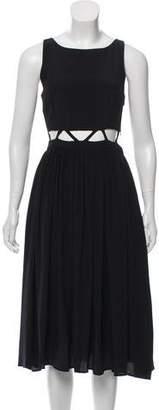Mara Hoffman Silk Cutout Dress