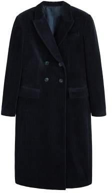 MANGO Structured corduroy coat