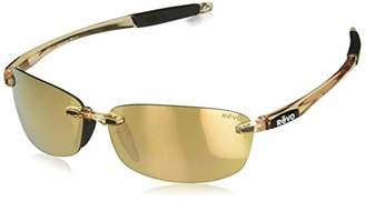 Revo Unisex RE 4060 Descend E Rectangular Polarized UV Protection Sunglasses Rimless