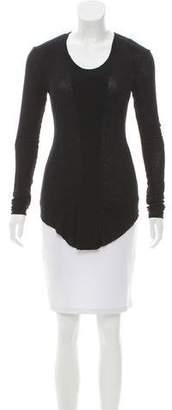 Helmut Lang Long Sleeve Knit Top