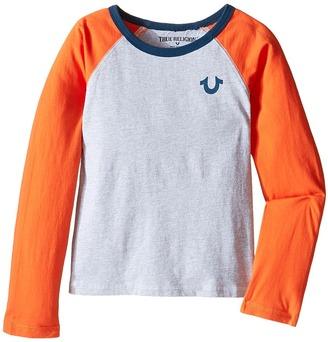 True Religion Kids Color Block Raglan T-Shirt (Toddler/Little Kids) $45 thestylecure.com