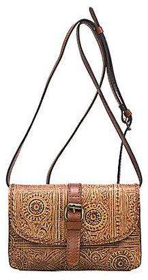 Patricia Nash Venetian Tooled Collection Torri Cross-Body Bag $99 thestylecure.com