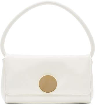 Little Liffner White Mini Baguette Bag