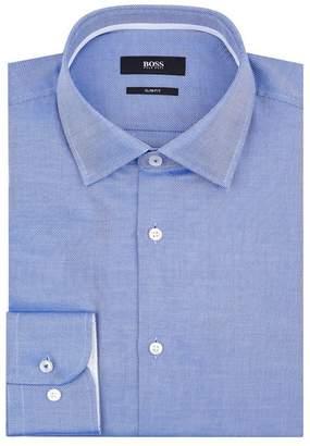 HUGO BOSS Textured Print Shirt