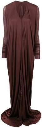Rick Owens Lilies draped dress