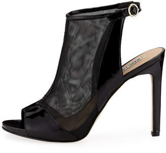 Karl Lagerfeld Paris Kim 2 Peep-Toe Mesh Shoeties