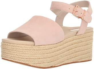 Kenneth Cole New York Women's Indra Platform Espadrille with Ankle Strap Heeled Sandal