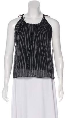 Objects Without Meaning Pinstripe Knit Top