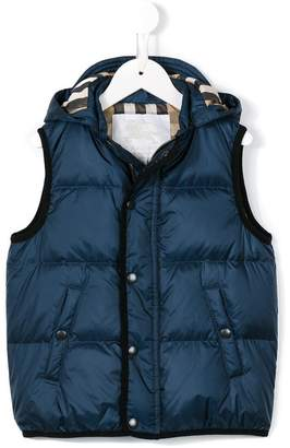 Burberry Down-filled Hooded Gilet