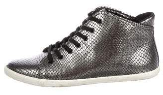 Marc by Marc Jacobs Leather Embossed Sneakers