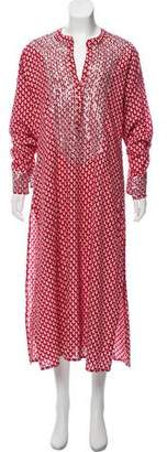 Figue Embellished Long Sleeve Maxi Dress