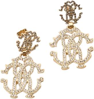 Roberto Cavalli Crystal Earrings