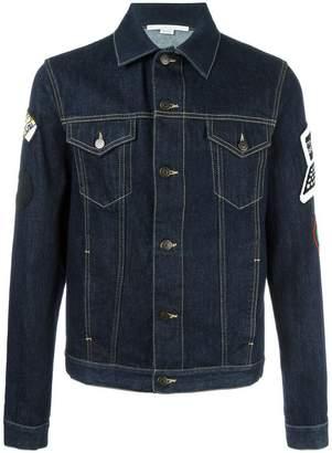 Stella McCartney raw denim jacket