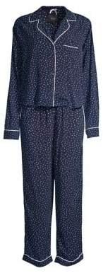 Rails Two-Piece Mini Heart Pajama Top and Pants Set