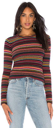 Autumn Cashmere Multi Stripe Crew