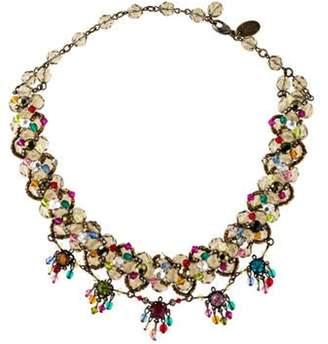 Erickson Beamon Beaded Collar Necklace Beaded Collar Necklace
