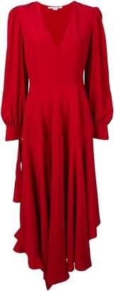 Stella McCartney deep V asymmetric hem dress