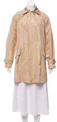 Ralph Lauren Black Label Silk Short Coat