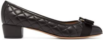 Salvatore Ferragamo Vara quilted-leather pumps