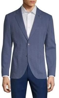 Tailorbyrd Amos Cotton Seersucker Jacket