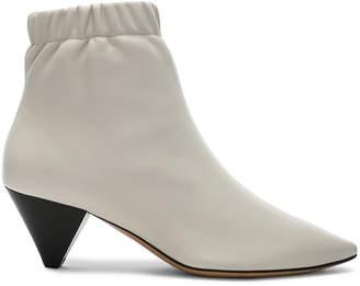 Isabel Marant Leather Leffie Boots