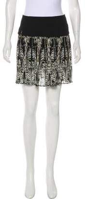 Just Cavalli Pleated Mini Skirt