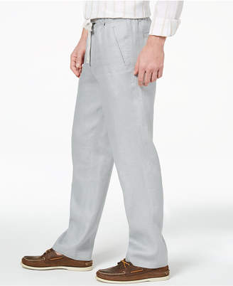Tasso Elba Men's Linen Drawstring Pants