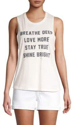 Spiritual Gangster Breathe Muscle Tank Top
